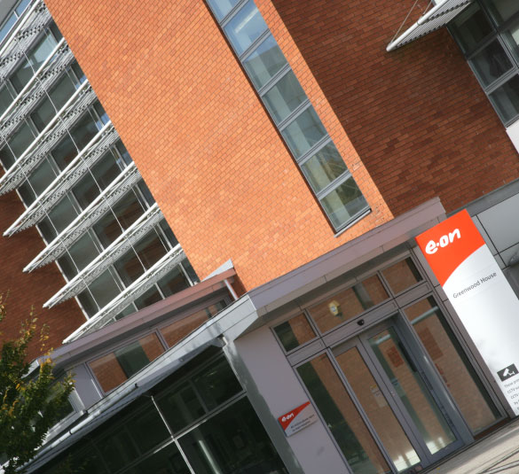 eon office entrance